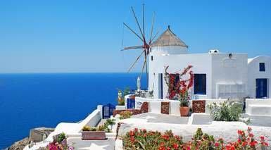 Atenas, Mikonos y Santorini