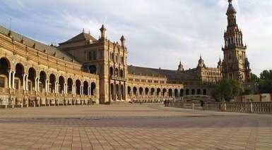 ENCANTOS DE ESPAÑA DESDE BARCELONA      -                     Sevilla, Granada, Madrid, Valencia, Barcelona                     Zaragoza, Córdoba, Mar Mediterráneo, Alhambra, Mezquita Catedral