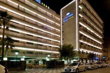 Outside Hotel H Top Pineda Palace Pineda de Mar