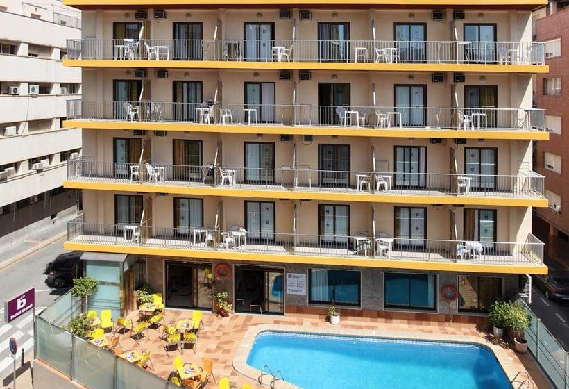 Outside Hotel Brasil Benidorm