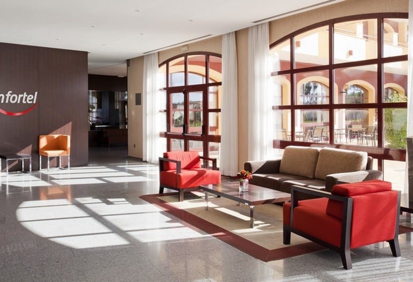 Front desk Hotel Ilunion Golf Badajoz