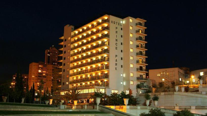 Outside Hotel Prince Park Benidorm