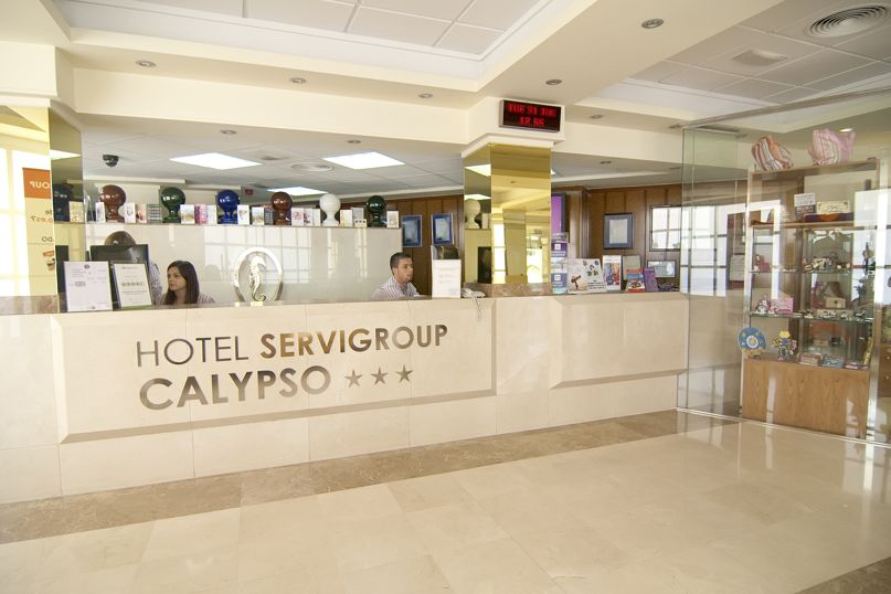 Reception Hotel Servigroup Calypso Benidorm