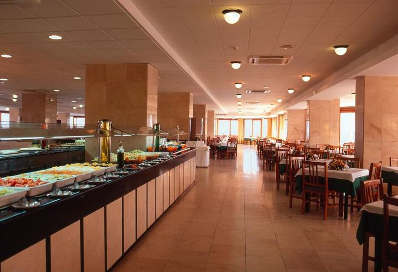Restaurant Hotel The New Algarb Playa d'en Bossa