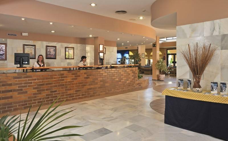 Reception Sol Sancti Petri Apartamentos Chiclana de la Frontera
