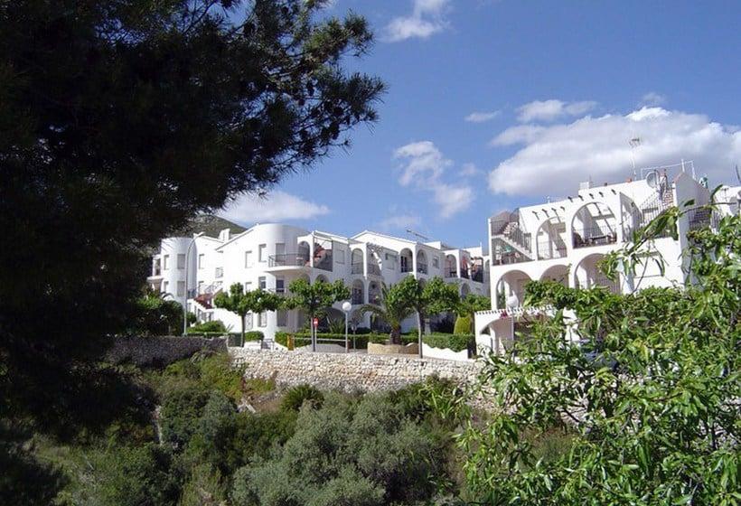 Outside Apartamentos Font Nova 3000 Penyiscola