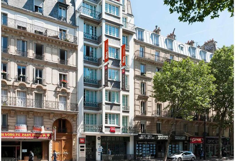Hotel Ibis Paris Ornano Montmartre Nord 18ème