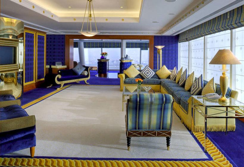 Room Hotel Jumeirah Burj Al Arab  Dubai