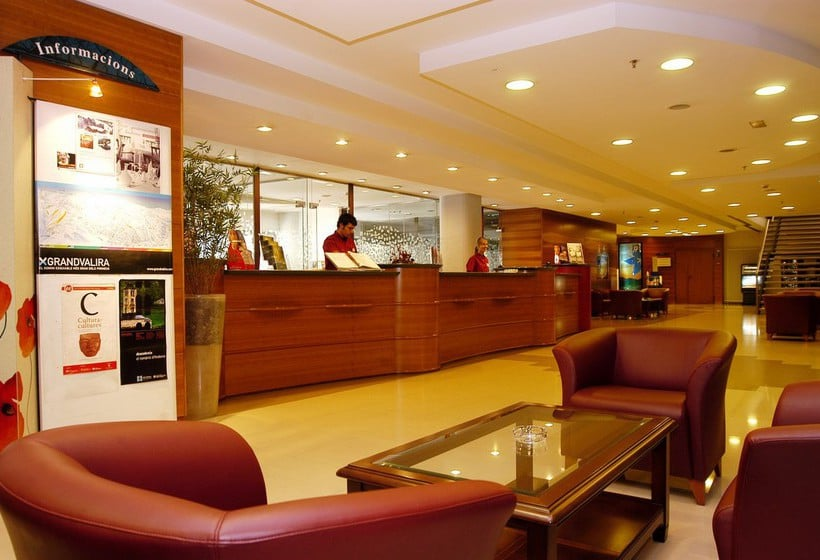 Front desk Hotel Tropical Les Escaldes-Engordany