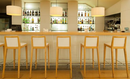 Cafeteria Hotel Eurostars San Lazaro Santiago de Compostela