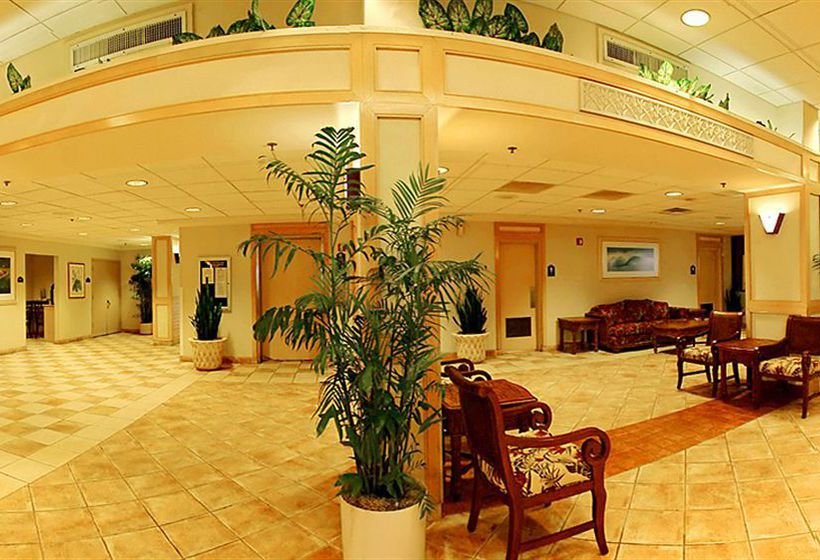 Front desk Hotel Ocean Breeze Club Daytona Beach
