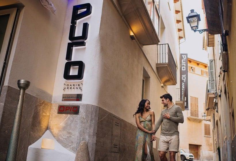Outside Puro Hotel Palma