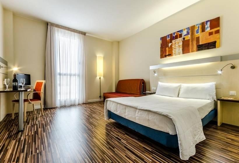 Hotel git ciudad de zaragoza en zaragoza destinia for Hotel habitacion familiar zaragoza