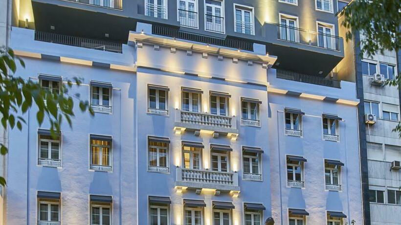 Outside Hotel Portobay Marques Lisbon