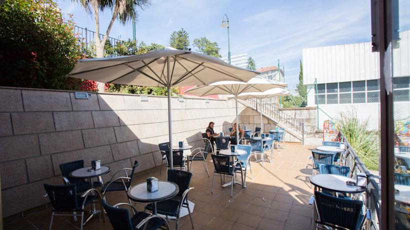 Terrace Hotel Dabarca Pontevedra