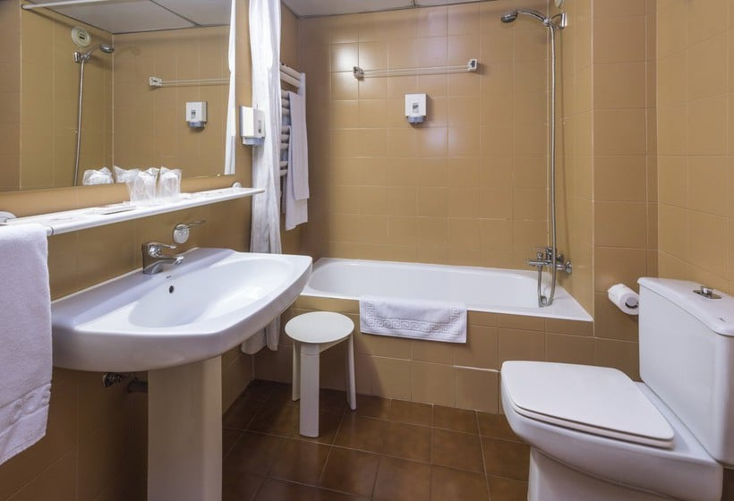 Cuarto de baño Hotel & Apartahotel SERHS Cosmos Les Escaldes-Engordany