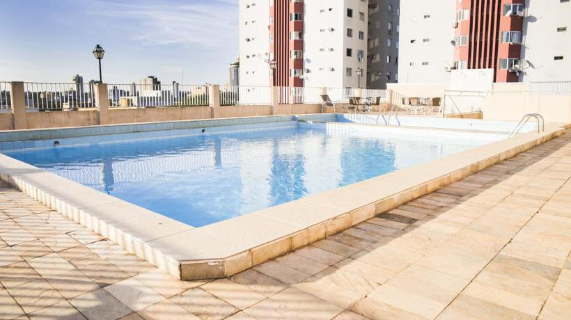 Swimming pool Mirante Hotel Foz do Iguacu