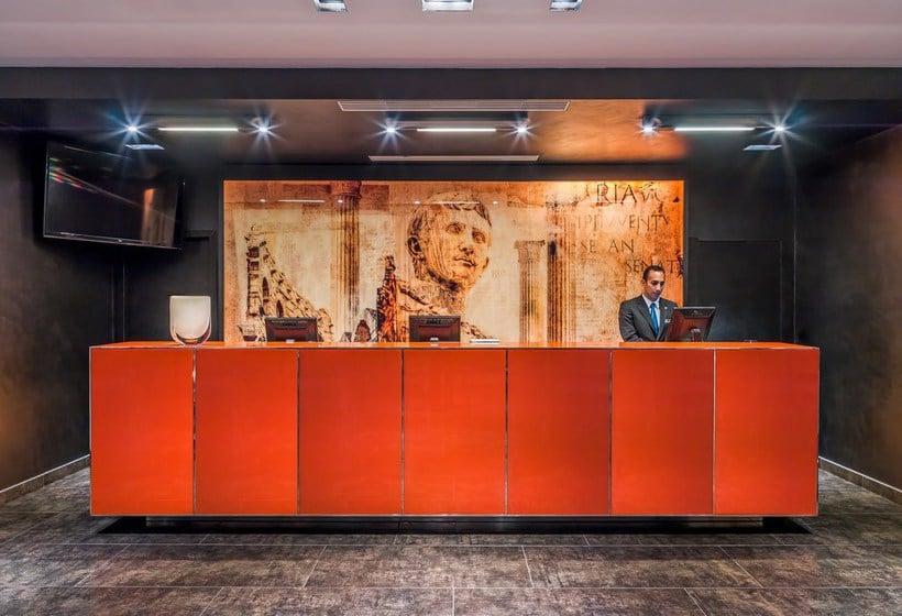 Front desk Hotel H10 Roma Citta Rome