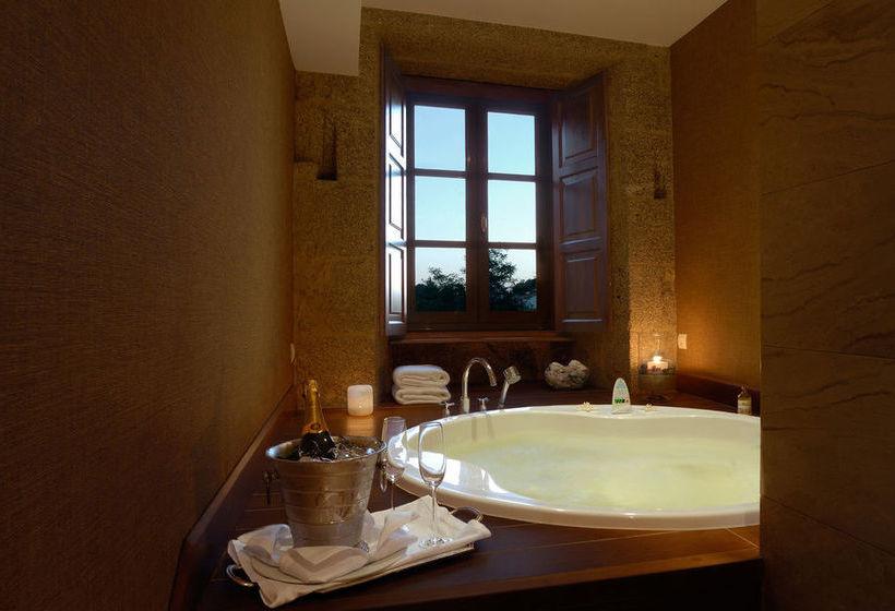 Bathroom Hotel A Quinta Da Auga Santiago de Compostela