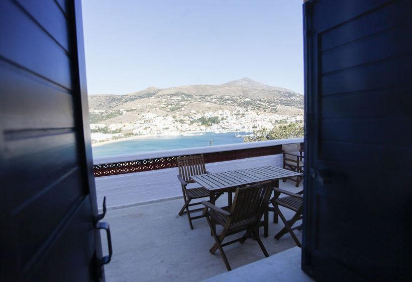 Недорогой дом в Андрос с видом на море