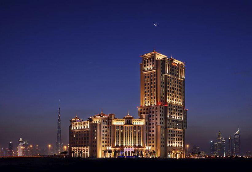 Outside Marriott Hotel Al Jaddaf Dubai