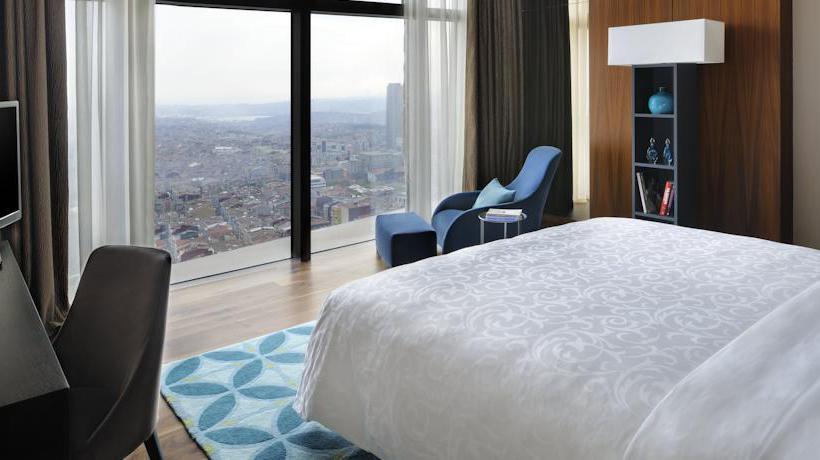 Room Istanbul Marriott Hotel Sisli