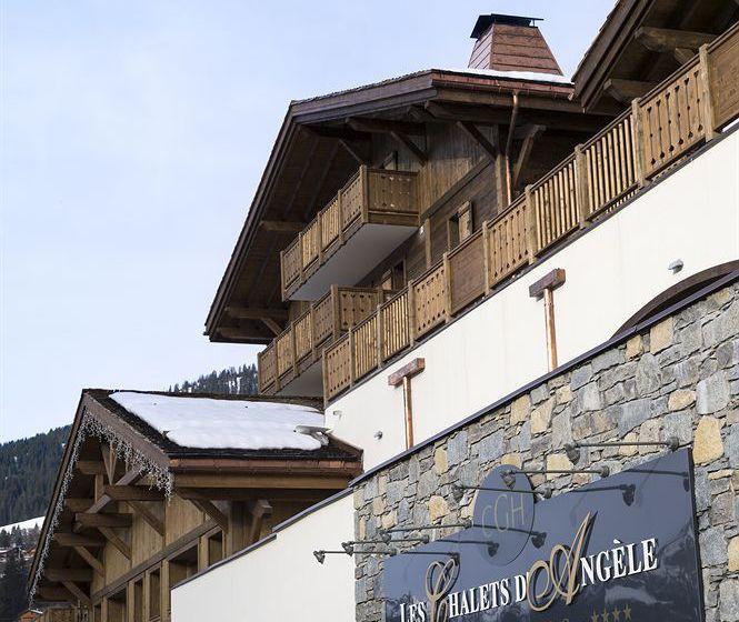 hotel le chalet d angele en chatel destinia
