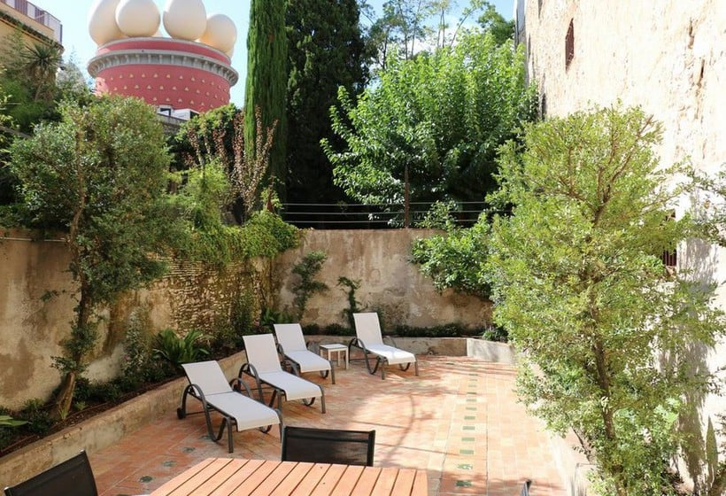 Terraza The Museum Apartments Figueres