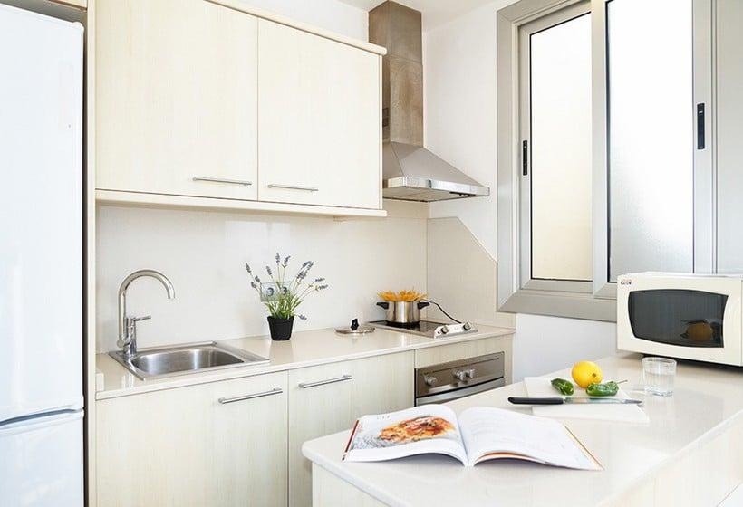 Cocina Feelathome Vila Apartment Barcelona