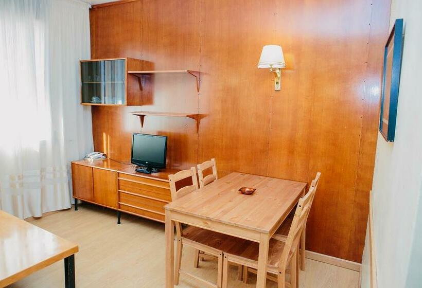 Habitación Apartamentos Augusta Barcelona
