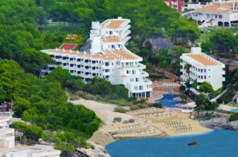 Hotel fergus style cala blanca suites en santa ponsa for Style hotel mallorca