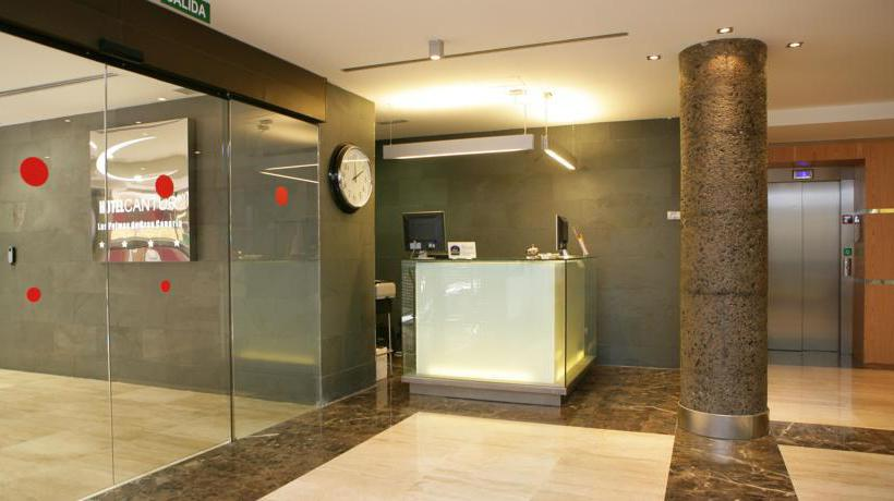 Recepción Cantur City Hotel Las Palmas de Gran Canaria