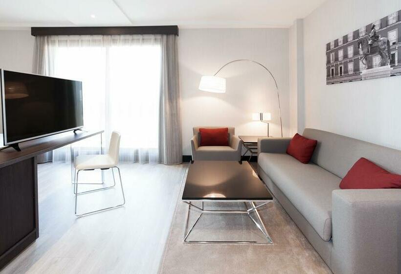 Habitación Novotel Madrid Center
