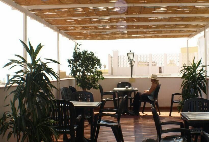 Terraza Hotel Kristal Torremolinos