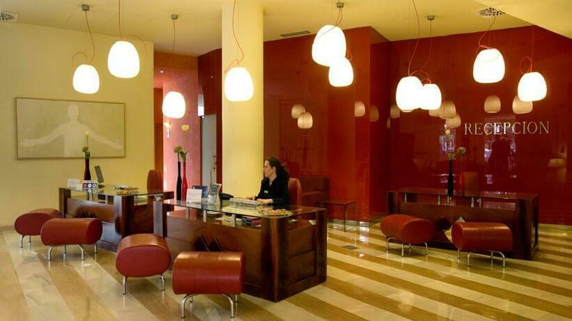 Recepción Hotel Silken Al-Andalus Palace Sevilla
