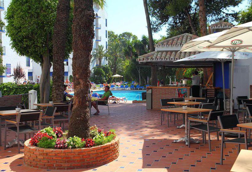 Zonas comunes Aparthotel PYR Marbella