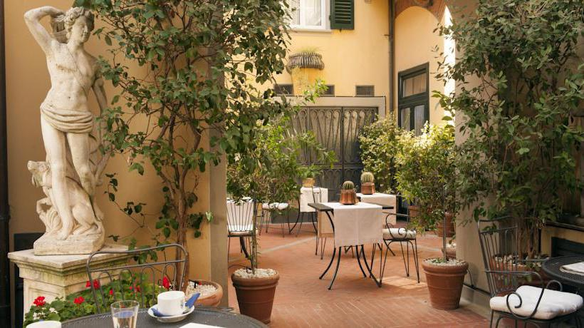 Terraza Hotel Rivoli Florencia
