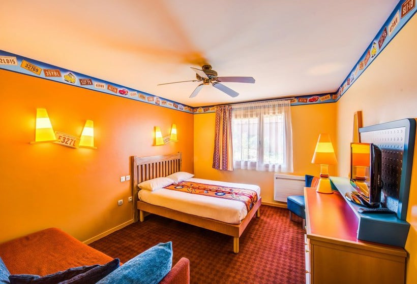 disney 39 s hotel santa fe en disneyland paris destinia. Black Bedroom Furniture Sets. Home Design Ideas
