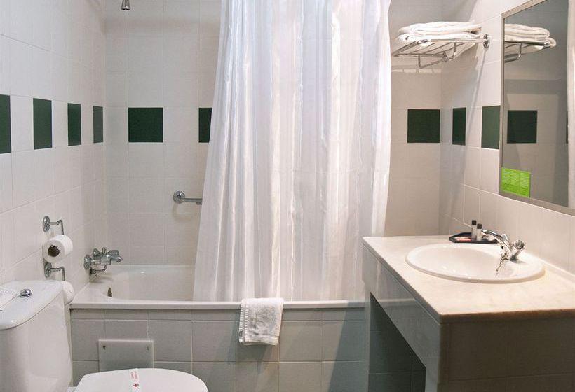 Cuarto de baño Hotel 3K Madrid Lisboa