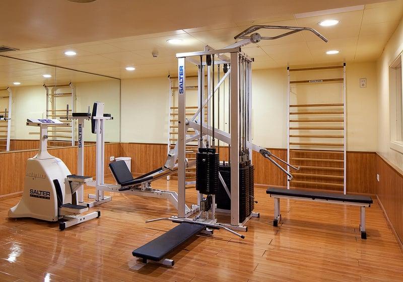 Instalaciones deportivas Hotel H Top Calella Palace