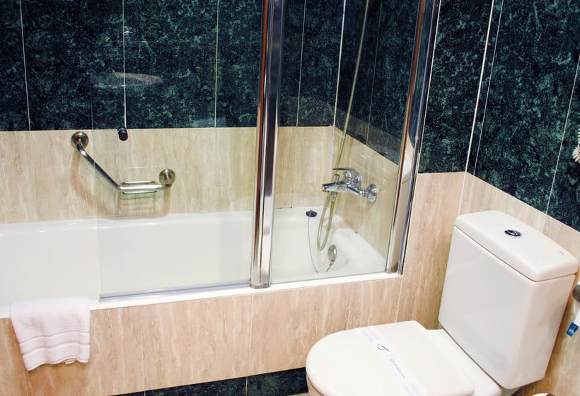 Cuarto de baño Hotel Abba Rambla Barcelona