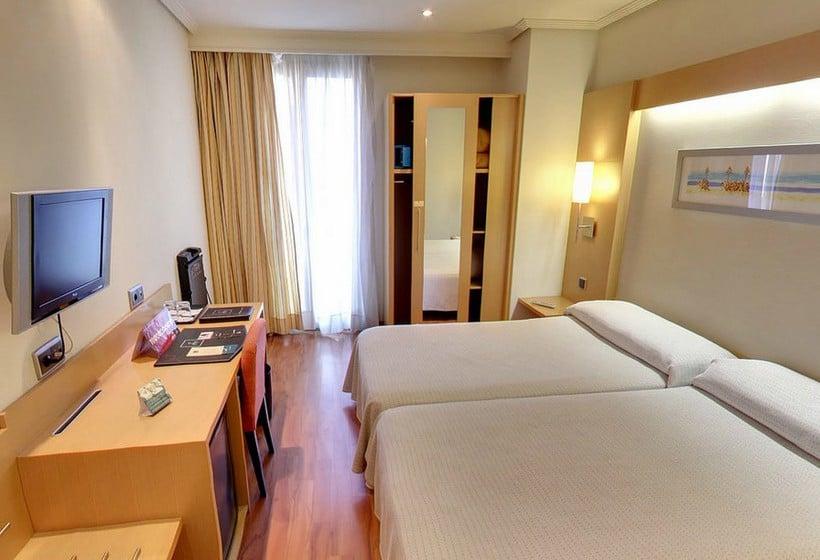 Habitación Hotel Abba Rambla Barcelona