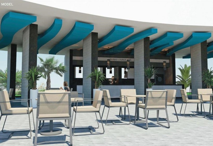 Terraza ClubHotel Riu Papayas Playa del Inglés