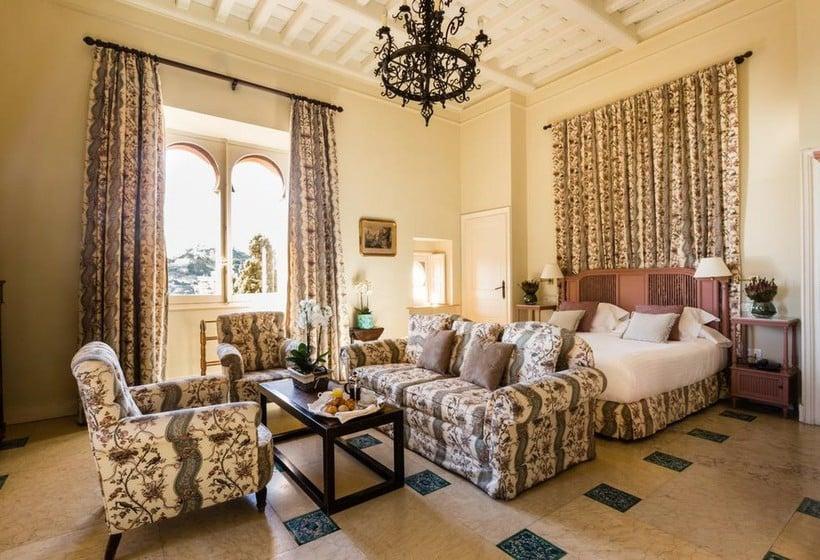 Habitación Hotel Castillo de Santa Catalina Málaga