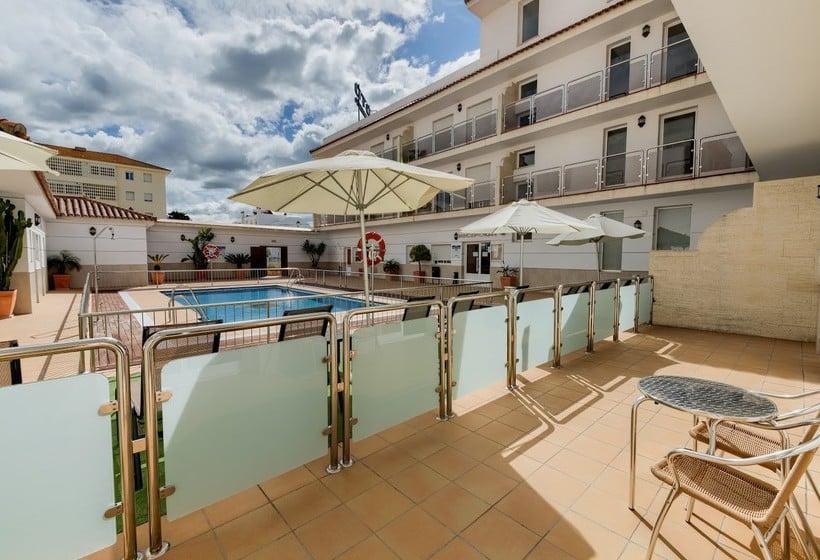 Terraza Loto Conil Hotel Apartamentos Conil de la Frontera