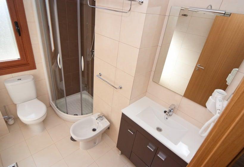 Cuarto de baño Aparthotel Jacetania Spa Jaca